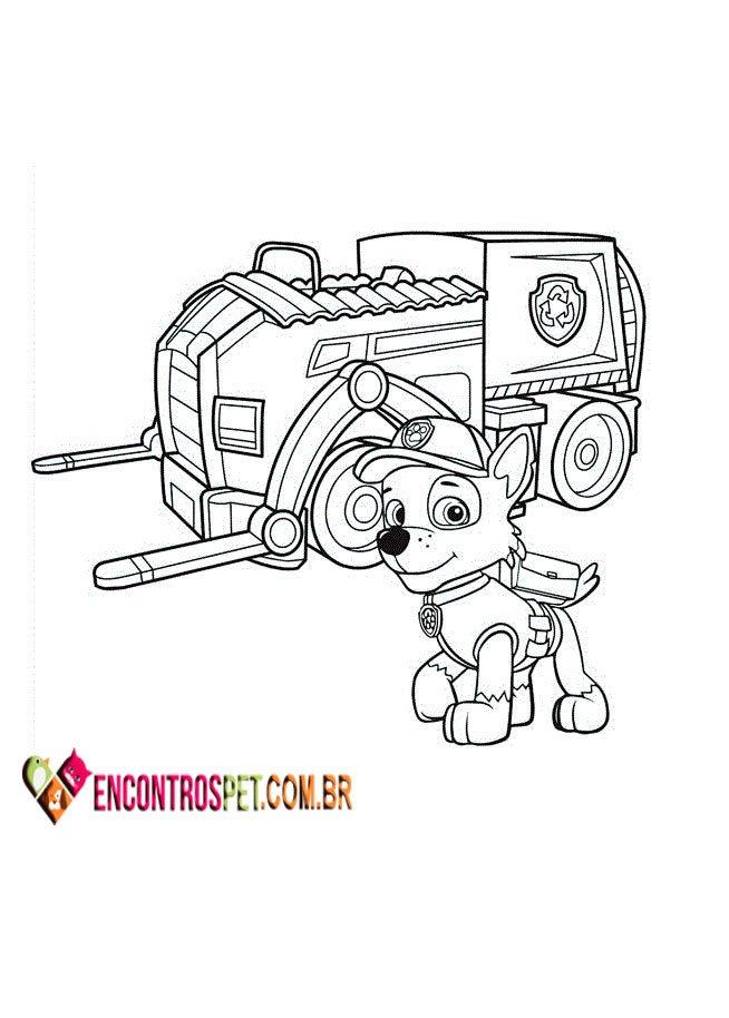 patrulha canina para colorir  pintar e imprimir  50